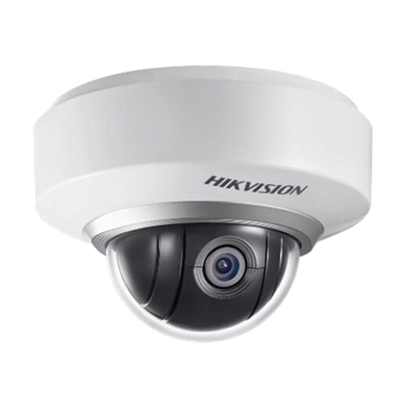 Câmara dome motorizada IP HIKVISION exterior IP54 de 1 Megapixel com zoom optico 3X, gravação SD e WIFI