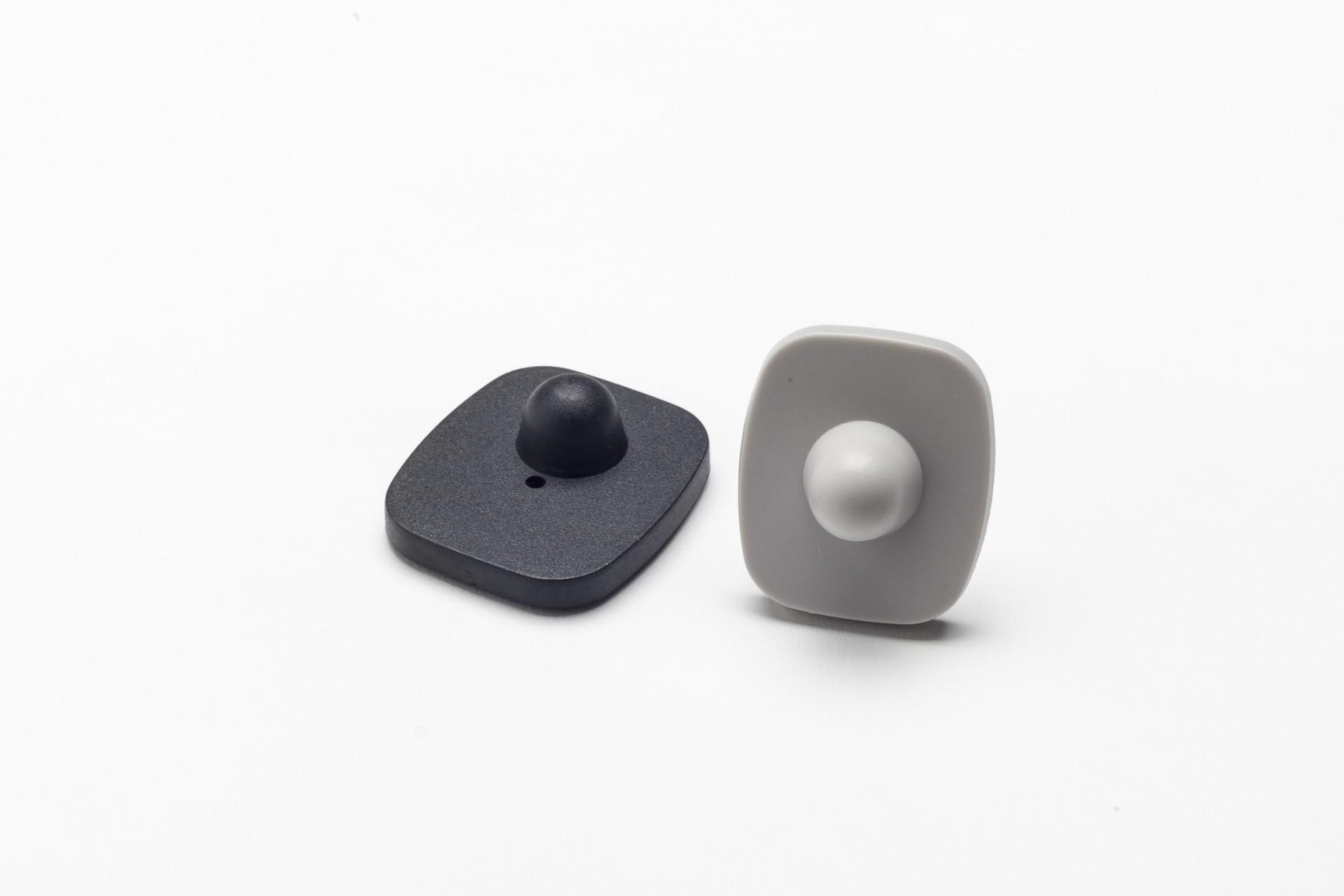 Etiqueta de alarme rígida rádio frequência Mini Square