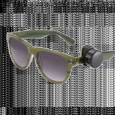 Etiqueta de alarme para óculos