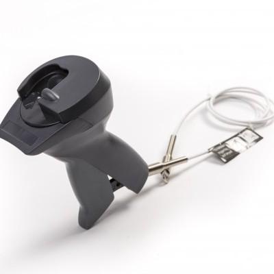 Destacador mecânico para etiquetas Supertag da Sensormatic