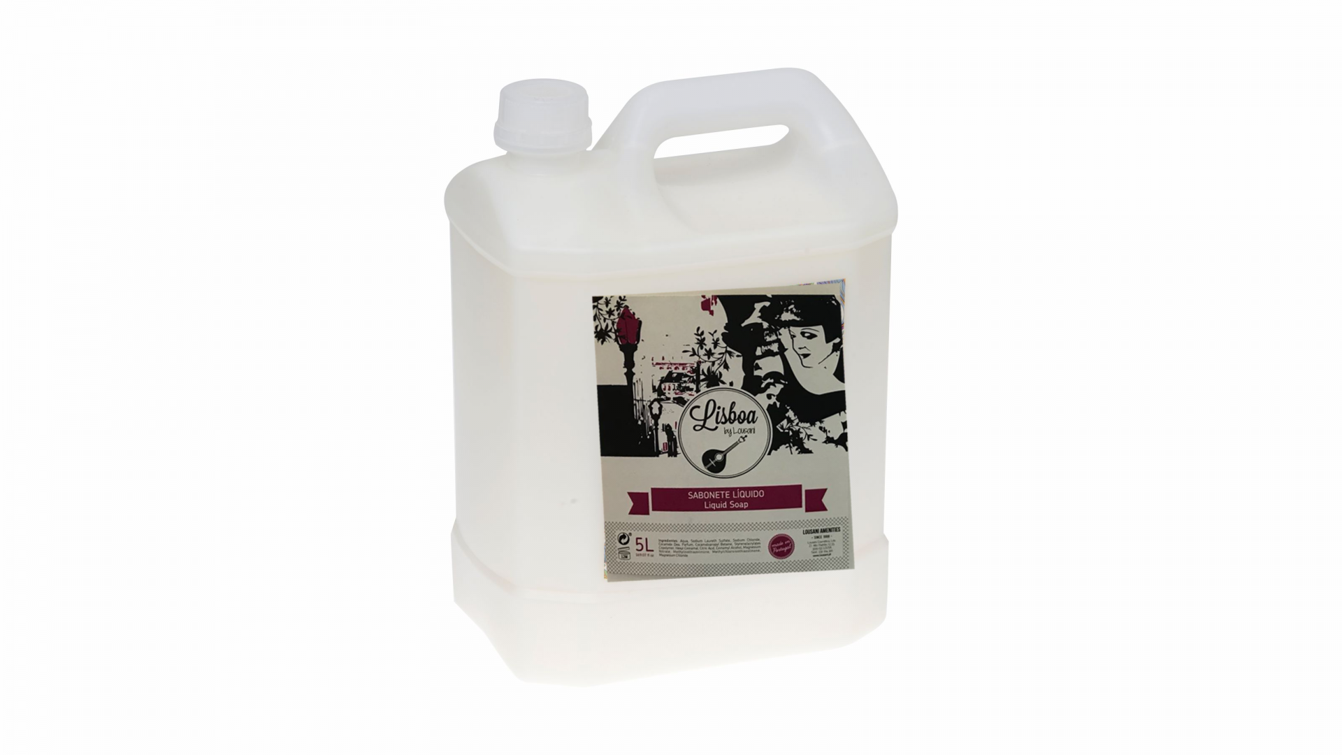 Recarga 5L sabonete líquido (1 uni) - Gama Lisboa