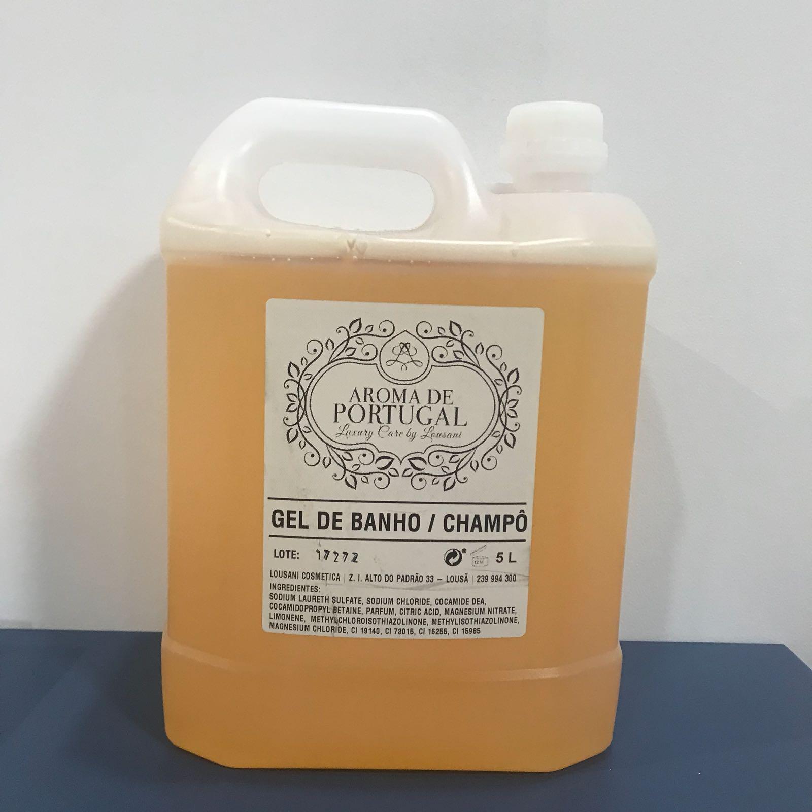 Recarga 5L champô/gel banho (1 uni) Aroma de Portugal