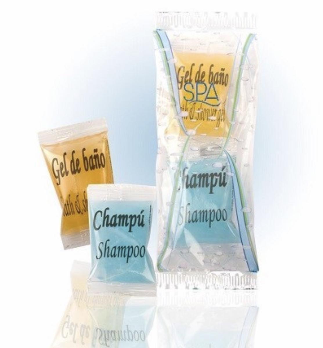 Saquetas Gel & Champô (1 saqueta com 2 unidades) A Loja do AL (PERSONALIZÁVEL)