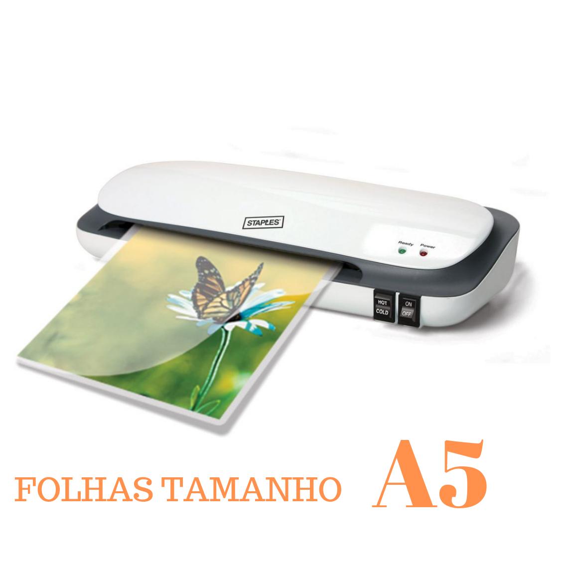 PLASTIFICAÇAO TÉRMICA folhetos informativos (A5)