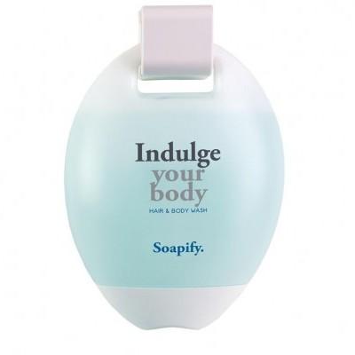 Sabão Líquido SOAPIFY - para corpo & cabelo, em frasco oval 380ml