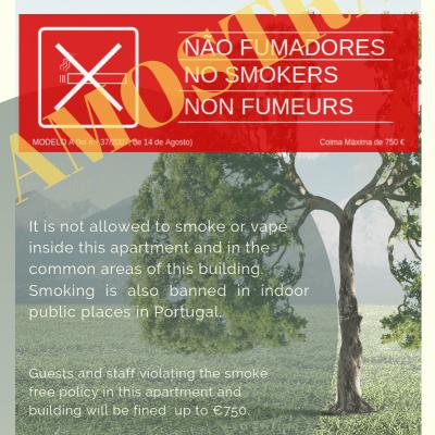 Poster NÃO FUMADORES (A4)