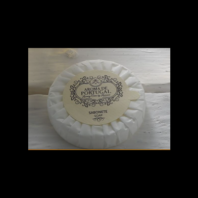 Sabonetes 20gr (redondos) em papel plissado (caixa de 400 unidades) Aroma de Portugal