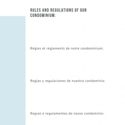 Livro de Informações do Alojamento Local. 4 línguas (pt/ing/fr/es) - a cores