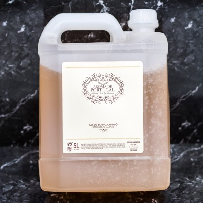 Recarga 5L - Champô & Gel banho - Gama  Aroma de Portugal