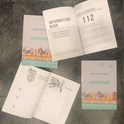 Livro da Casa A4 (Livro de Informações do Alojamento Local em 4 línguas integrado)