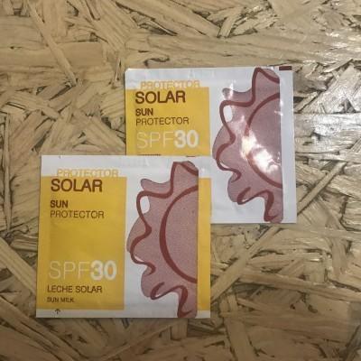 Creme Protector Solar Factor 30 (20 unidades)