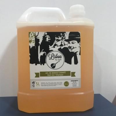 Recarga 5L champô/gel banho (1 uni) Gama Lisboa