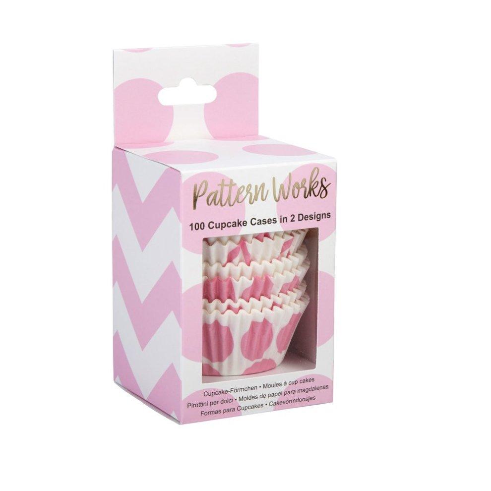 Forma cupcake rosa
