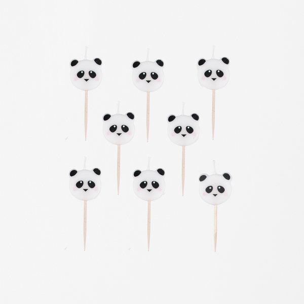 8 Velas Panda