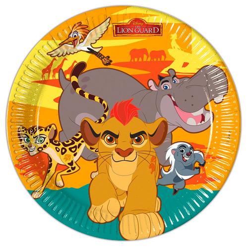 Pratos guarda do leão