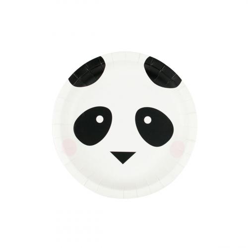 8 Pratos Panda