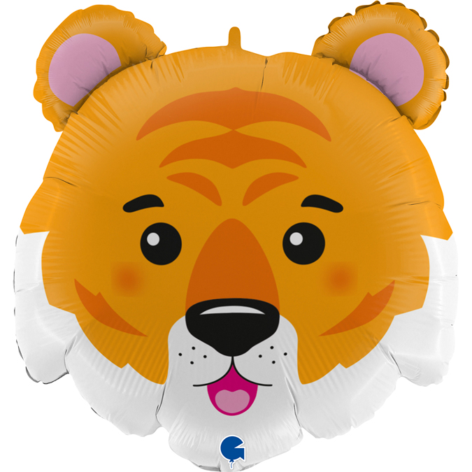 Balão cabeça de Tigre 71cm