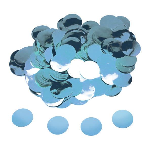 15g confetti azul foil