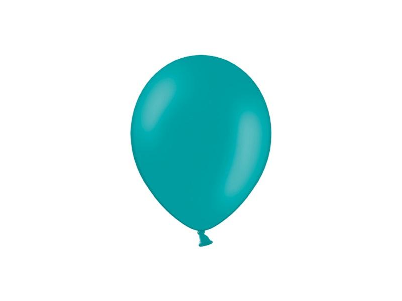 Balão latex 12cm Turquesa