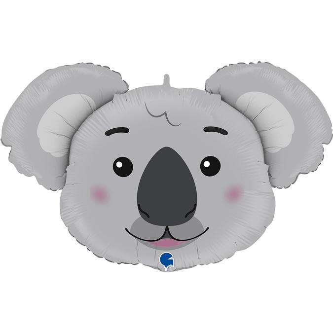 Balão cabeça de Koala 94cm