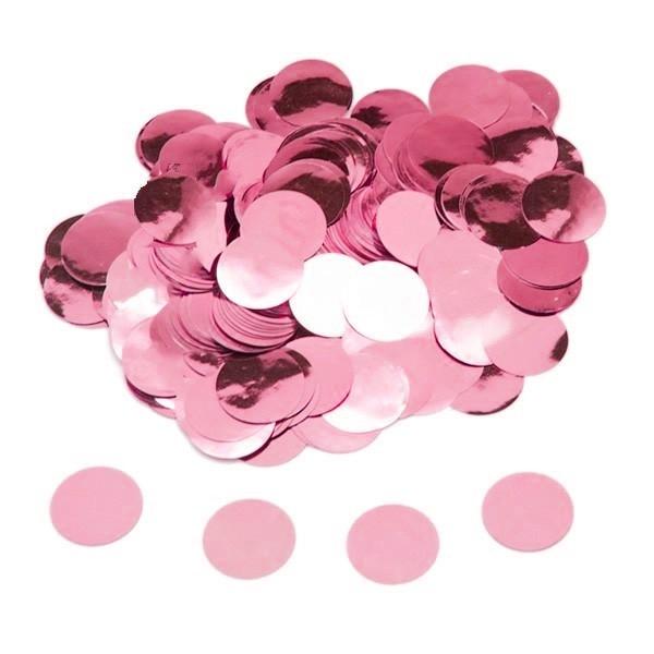 15g confetti rosa foil