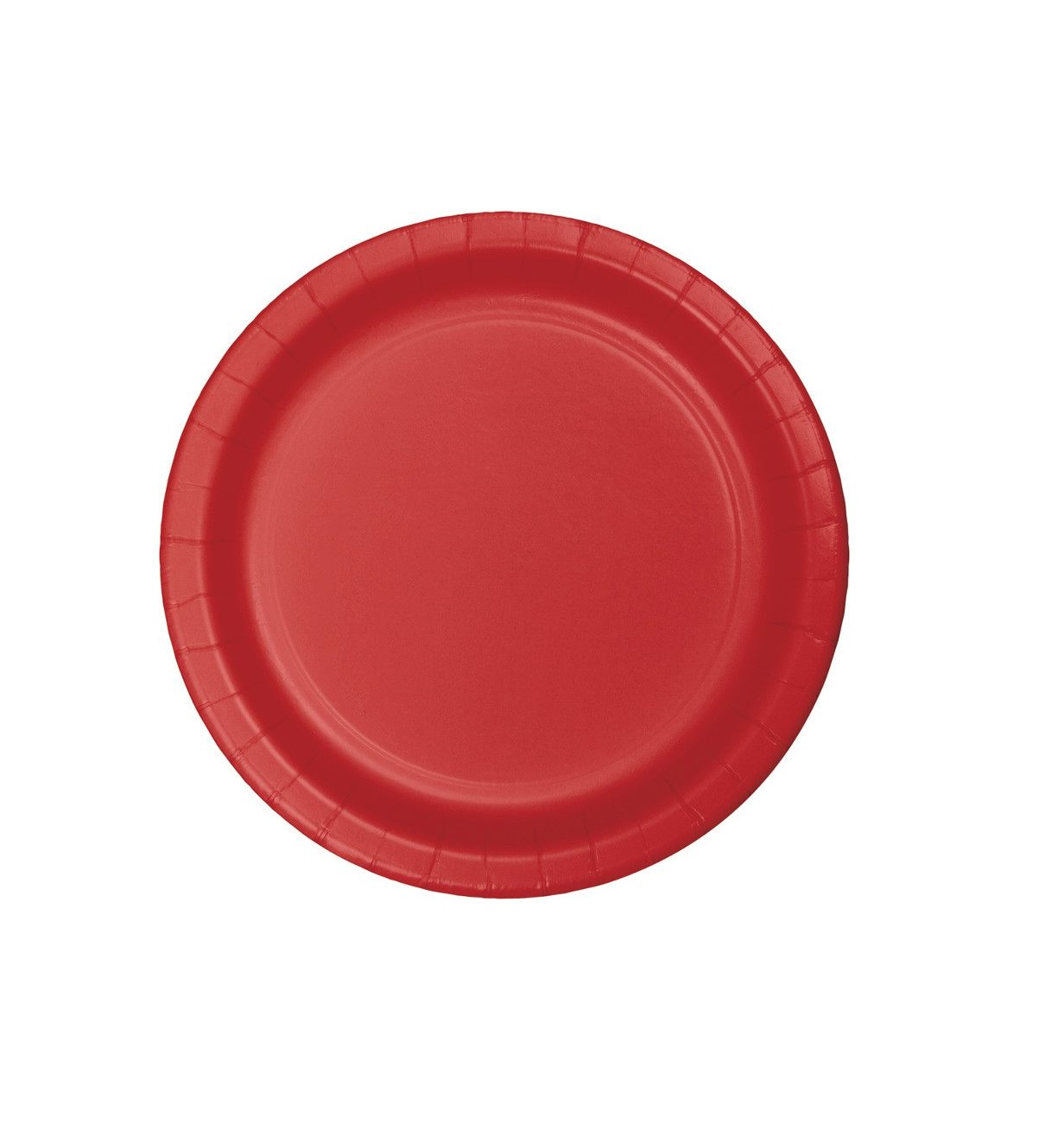 20 pratos Vermelho