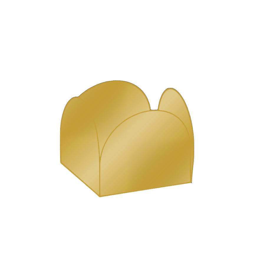 Conj. 24 formas brigadeiro Ouro