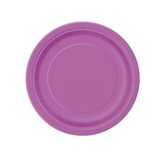 20 pratos roxo