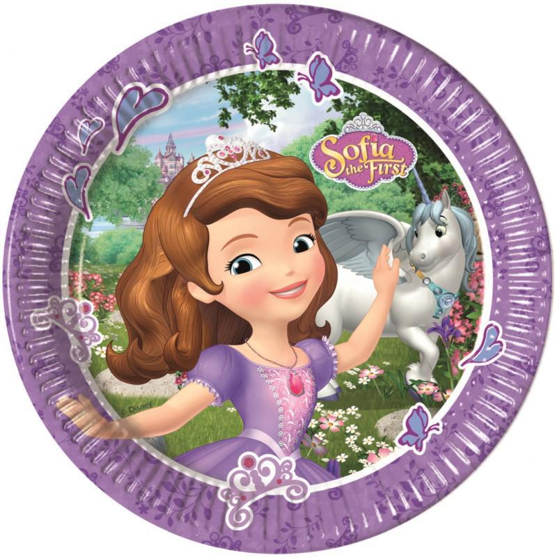 Pratos princesa sofia