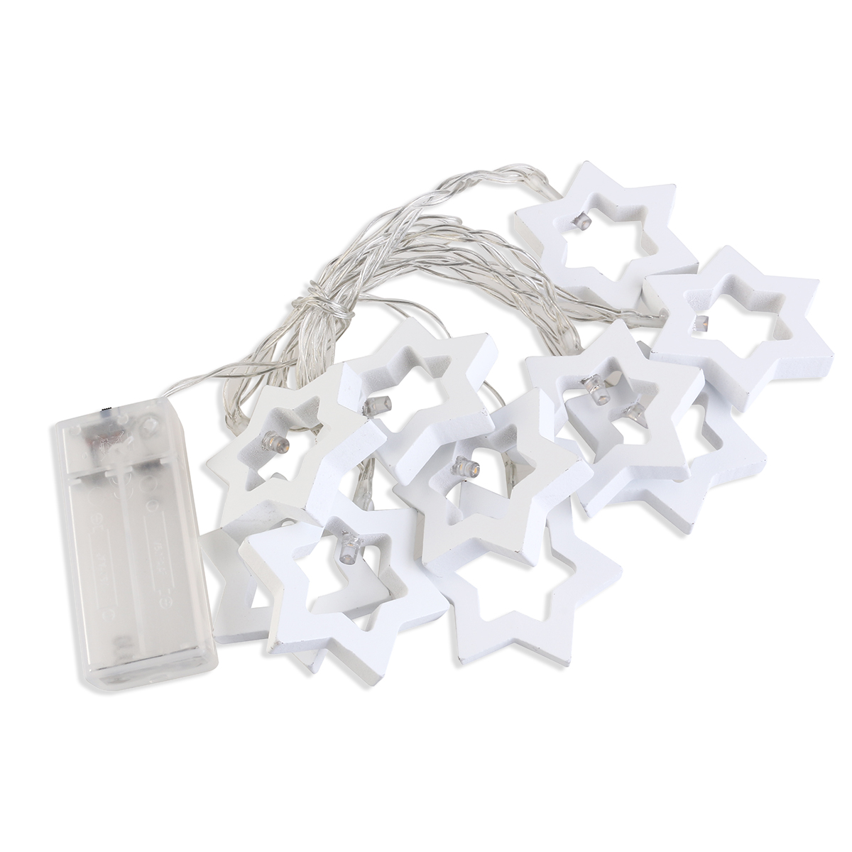 Luzes LED  Estrelas Natalícias