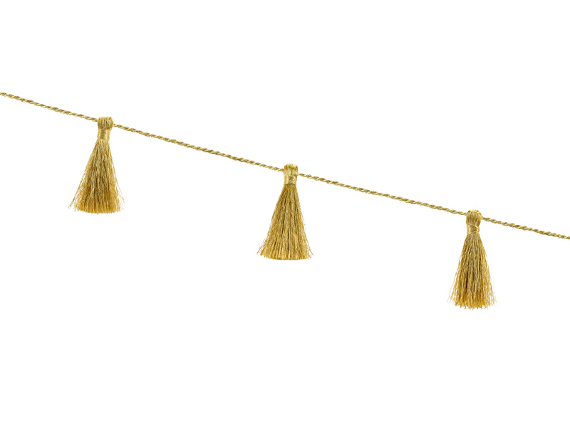 Grinalda tassel - ouro