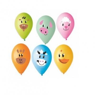 Balão latex Animais da quinta