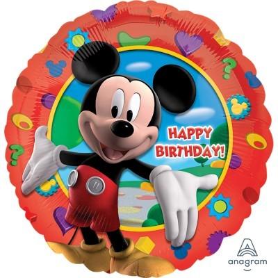 Balão happy birthday Mickey