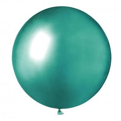 Balão latex 48 cm Chrome Verde