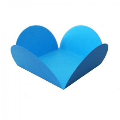 Forma brigadeiro azul 24 unidades