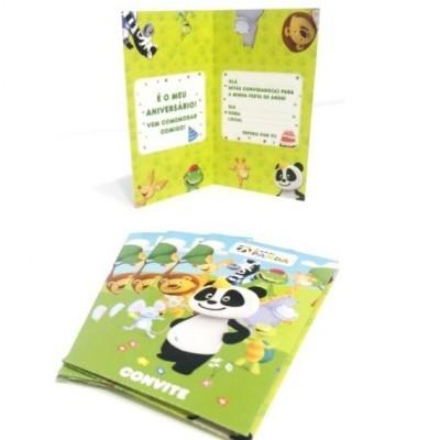 Convites Canal Panda