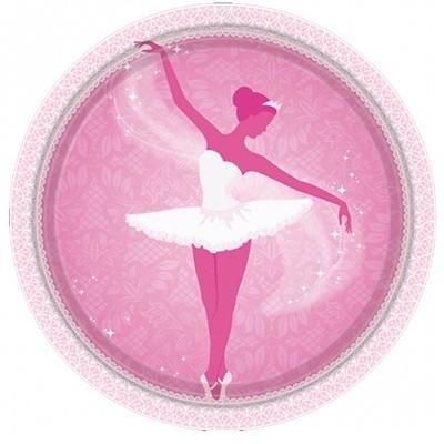 Prato 20 cm bailarina