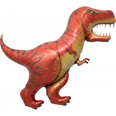 Balão foil dinossauro