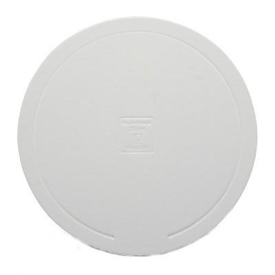 Disco redondo branco elegante (vários tamanhos)