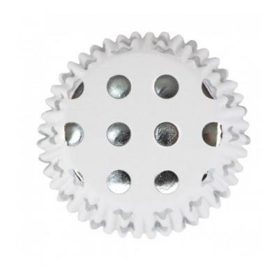Forma Cupcake bolas Prata
