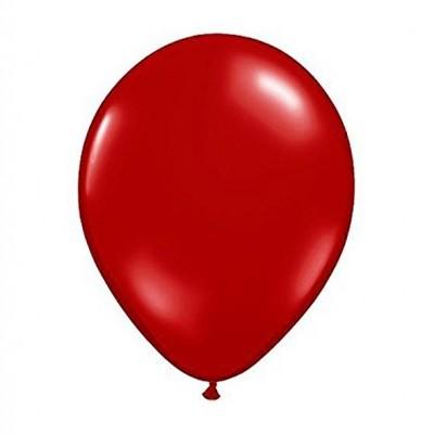 Balão vermelho metalizado