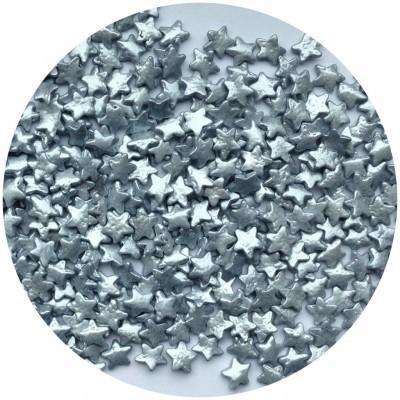 Confetti estrelas Prata 55g