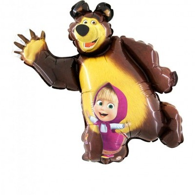 Cópia de Balão super shape masha e o urso