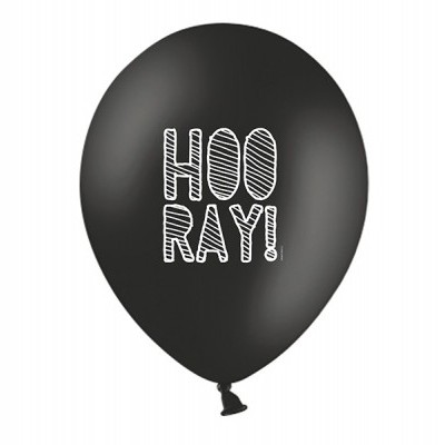 "Balão latex ""HOORAY"""