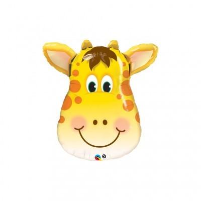 Balão foil Girafa