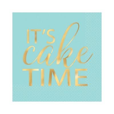 Guardanapos S Cake time