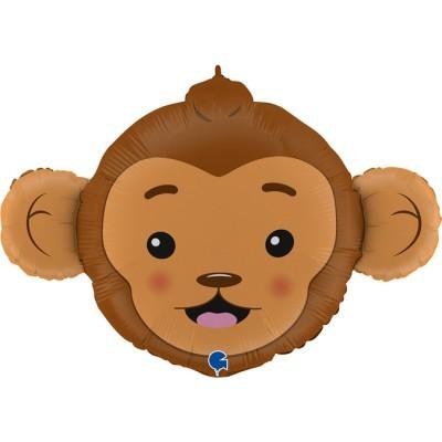 Balão cabeça de Macaco 91cm