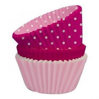 formas cupcake rosa perfeito