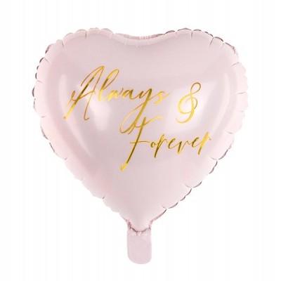 """Balão coração """"Para sempre"""""""