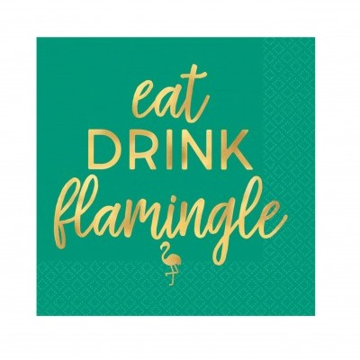 Guardanapos S Eat drink Flamingle